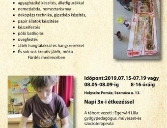 Művészeti tábor gyerekeknek